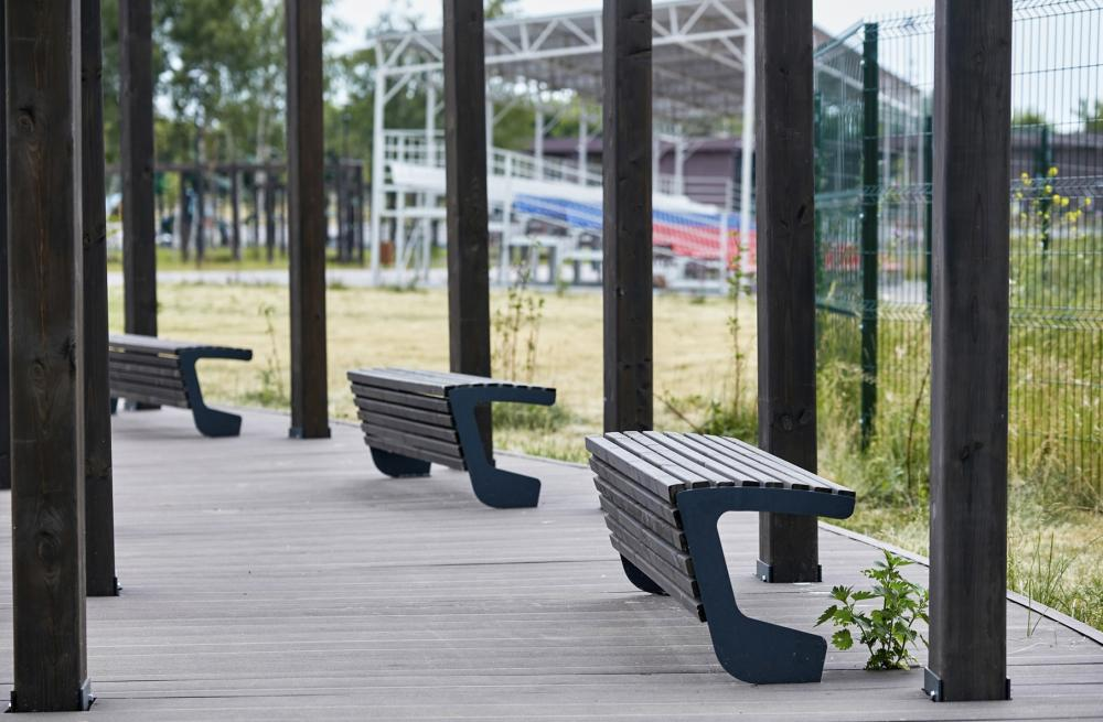 Why do we need benches without backs?