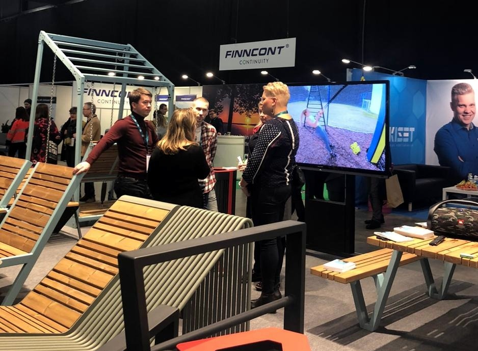 "Participate in the exhibition ""Green Days 2020"" in Finland"