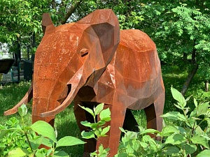 Sculpture «Elephant»