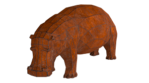 Sculpture «Hippo»