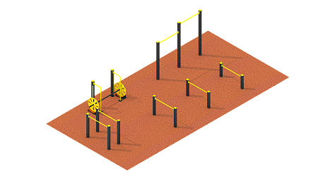 Workout sports ground №1