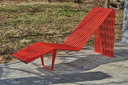 Bench «Infinity» (Sun lounger)