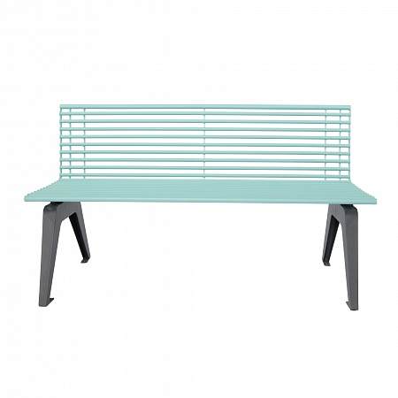 "Bench with back ""ARIA"""