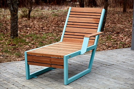 Bench «Boston» (Sun lounger) left armrest